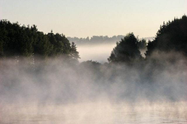 За туманом ничего не видно: из-за тумана закрыли два черноморские канала