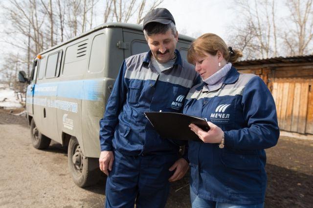 Там, где нет Интернета и банкоматов, работают мобильные кассы «Кузбассэнергосбыта».
