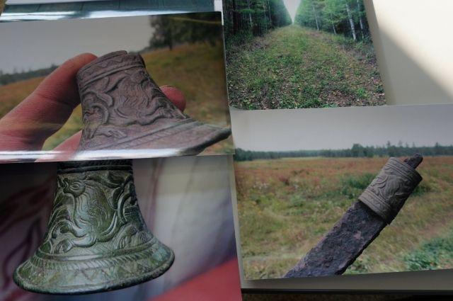 Находки археологической экспедиции из несуществующей сейчас деревни Бурнино.