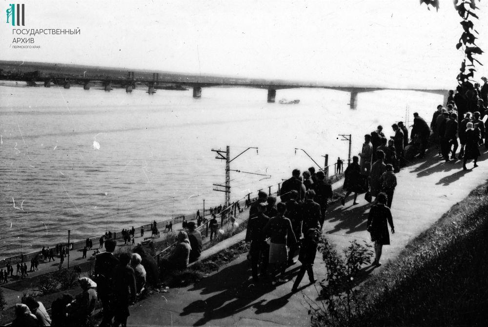 Прогулка по набережной, 1967 год.