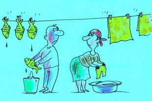 Плюсы карикатуры в том, что смысл её понятен во всех странах мира.