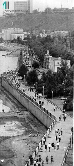 Набережная Перми, 1977 год.