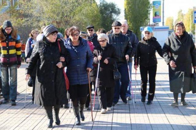В Новотроицке прошла акция «Белая трость».