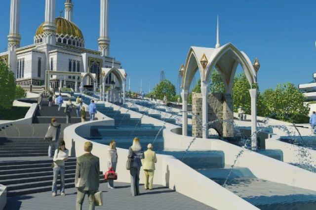 Проект мечети