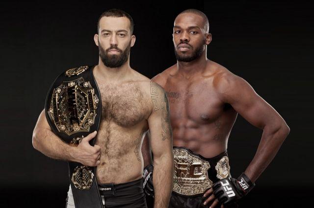 Экс-чемпион UFC Джон Джонс и чемпион WWFC Роман Долидзе проведут сбор в США