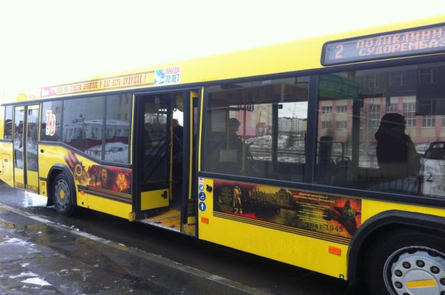 В график работы общественного транспорта Лабытнанги внесли изменения