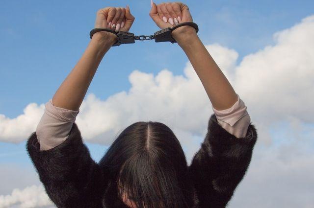 Суд арестовал её на два месяца.