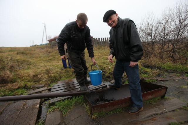 Та самая стоянка, где пил воду Чингизхан.