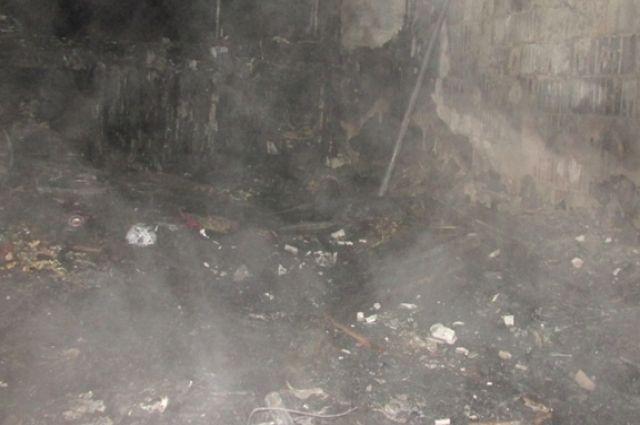 Пожар произошёл в ночь на 1 ноября, когда хозяин квартиры употреблял спиртные напитки.