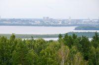Весной может подтопить острова на Ангаре, на которых люди построили дома.