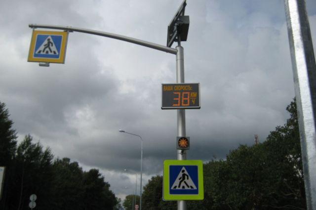 В Калининграде задержали мужчин, которые портили пешеходные переходы.