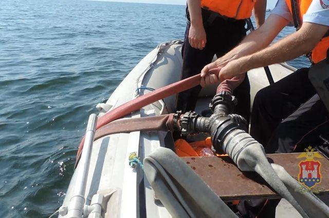В Балтийском море утонул дайвер, пытавшийся добыть янтарь.