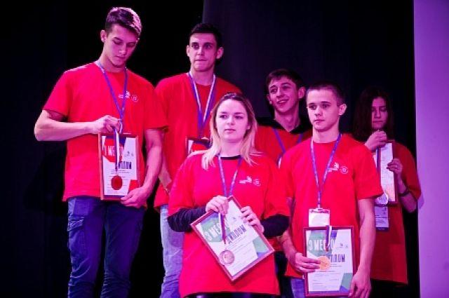 В Оренбурге наградили победителей IV Открытого регионального чемпионата «Молодые профессионалы» (WorldSkills Russia).