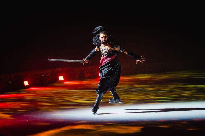 Бронзовый призер чемпионата мира Артур Гачинский в роли Рогдая