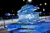 Ледовый городок Ноябрьска украсят малахитовая шкатулка и каменный цветок