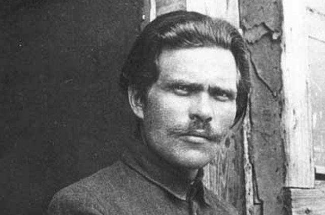 Нестор Махно в 1921 году.