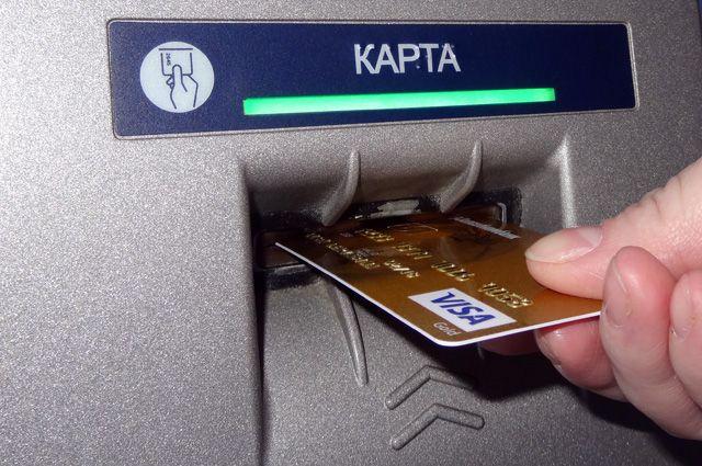 На банковской карте нельзя указывать пин-код