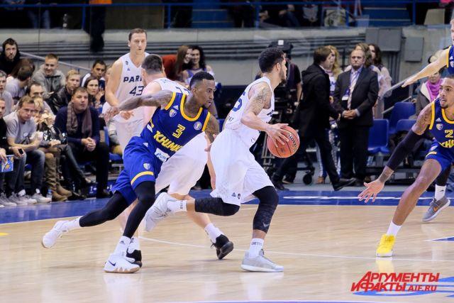 Пермская команда прервала серию из трёх поражений и после пяти встреч занимает 9-е место в Единой лиге ВТБ.