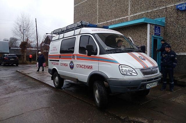 Спасатели незамедлительно приыли на место происшествия.