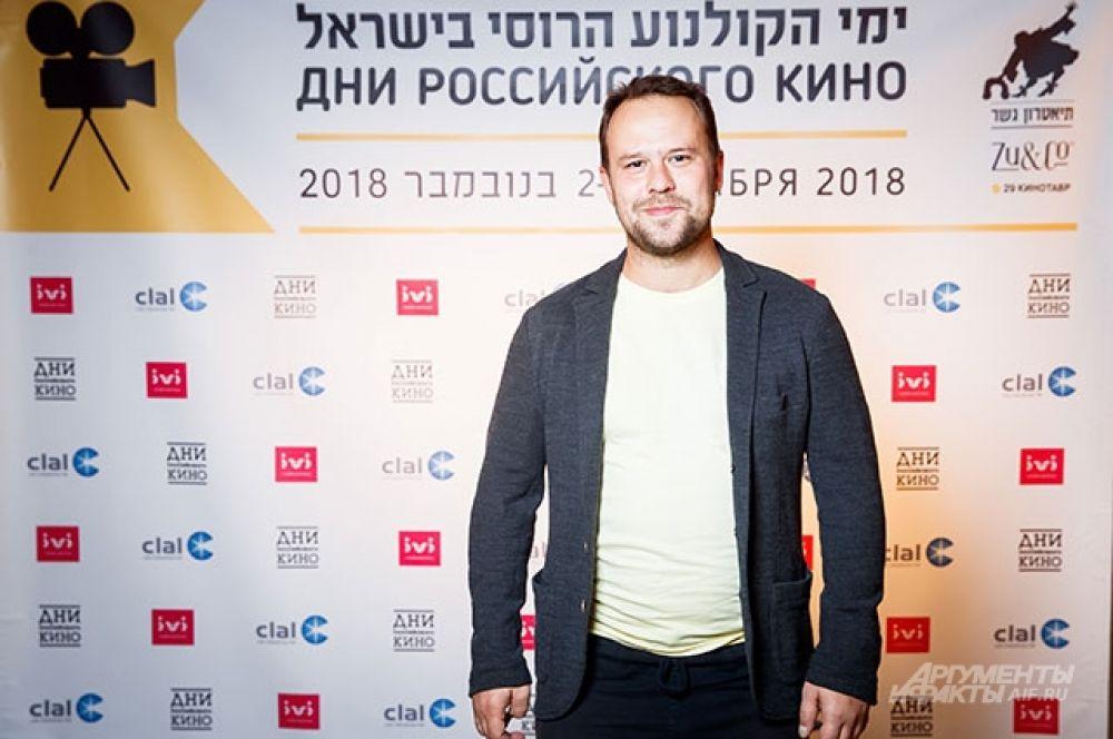 Актёр и режиссёр Кирилл Плетнев.