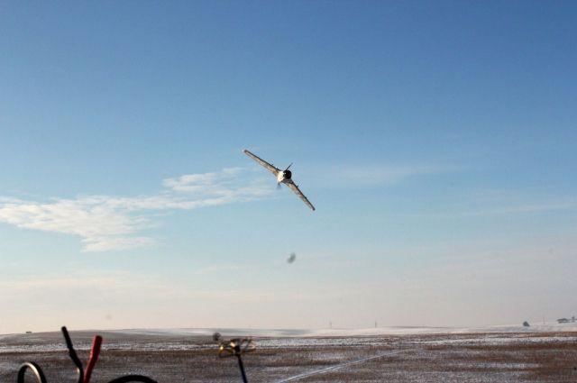 Военные обнаружили беспилотник в запрещенной зоне арсенала ВСУ
