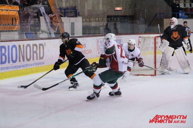 «Молот-Прикамье» набрал 14 очков и располагается на 24-м месте в ВХЛ.