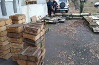 Под Северодонецком в заброшенном детском лагере нашли тайник с оружием