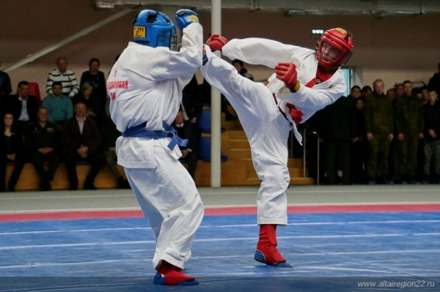 Армейский рукопашный бой на Алтае
