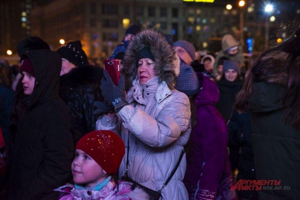 На праздник пришли даже самые юные новосибирцы.