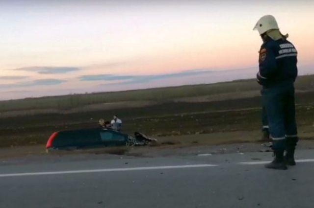 На данном участке дороги Ростов - Таганрог аварии происходят регулярно