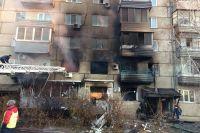 При взрыве пострадали пять человек, один в тяжелом состоянии