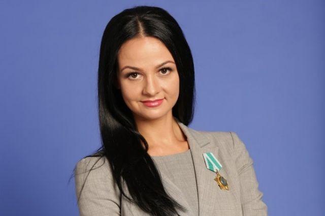 Руководитель Департамента молодежной политики Свердловской области Ольга Глацких в прошлом олимпийская чемпионка.
