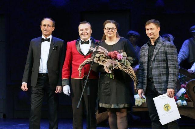 В тюменском театре драмы наградили лучших актеров и режиссеров 160 сезона