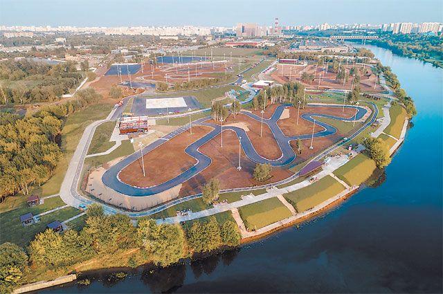 Парк технических видов спорта в Печатниках.