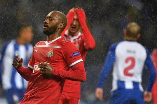 «Локомотив» потерял шансы выйти в плей-офф Лиги чемпионов