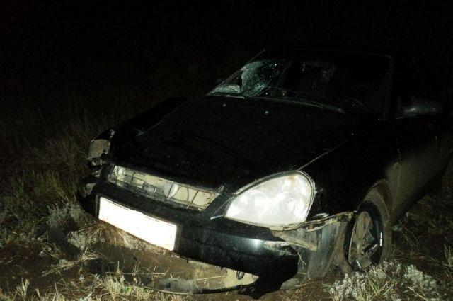В Сорочинском округе ночью водитель «Лады» насмерть сбил двух женщин.