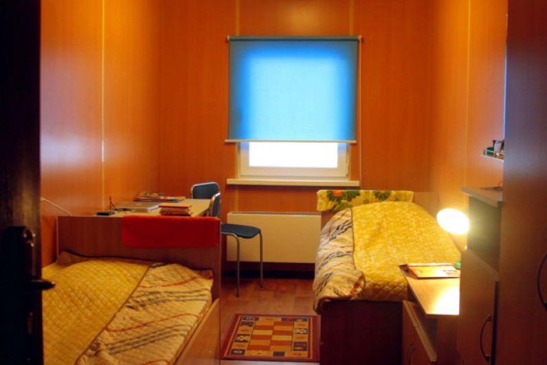 Комната общежития.