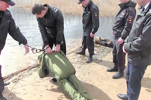 Вот так завершилась «сделка с недвижимостью» для одной из жертв (кадр из видеозаписи следственных действий).