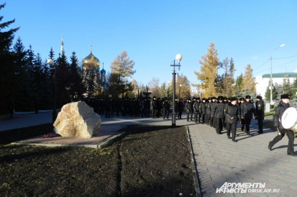 Митинг у мемориального камня «Жертвам сталинских репрессий»