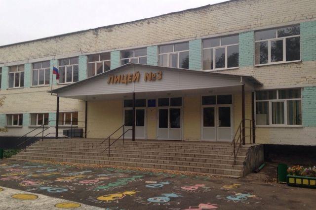 В Оренбурге за каникулы отремонтировали лицей №3