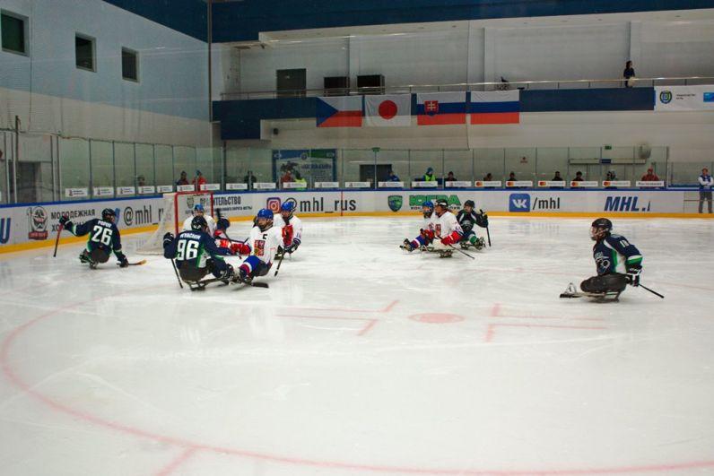 Игра прошла между командами Югры и Чехии