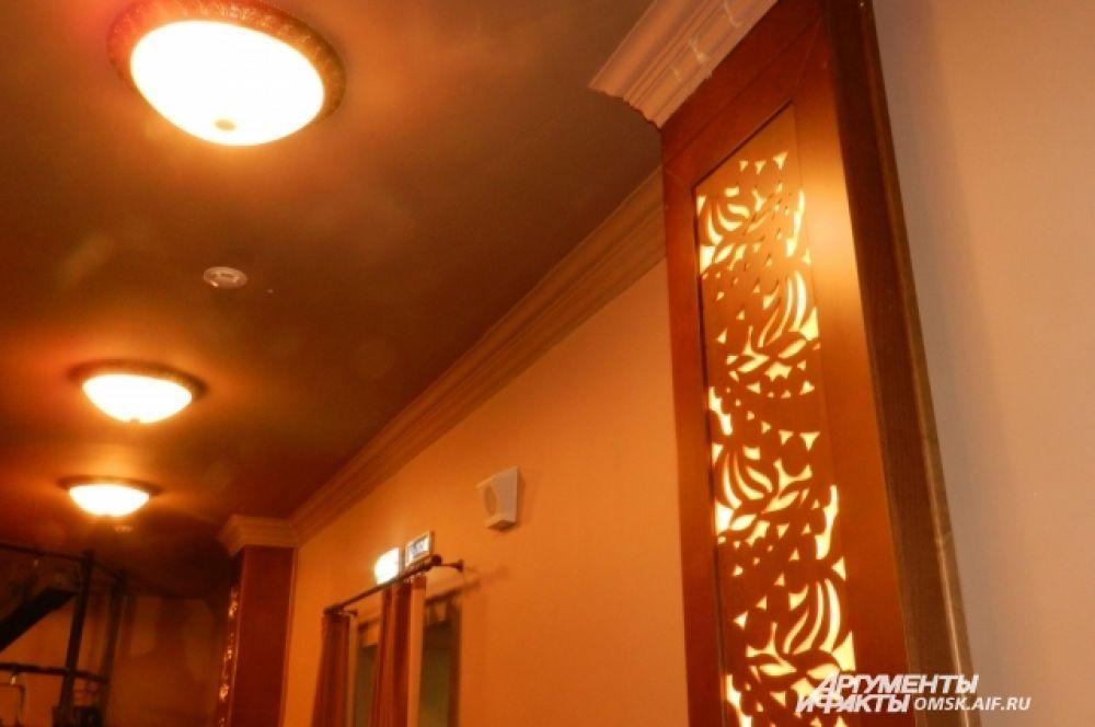 Элемент интерьера балкона