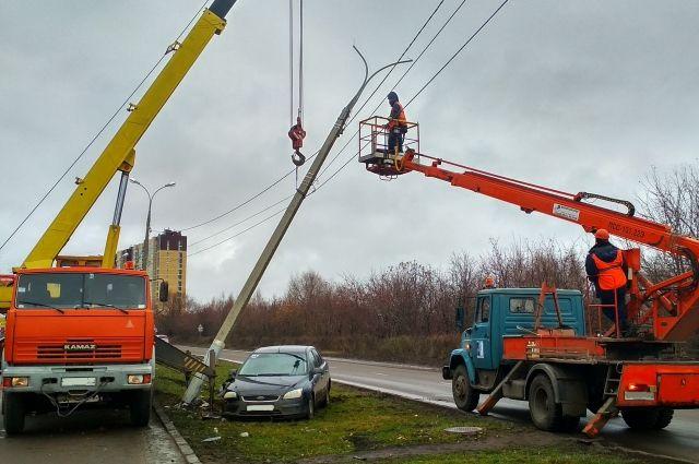 Электроснабжение нарушено не было.