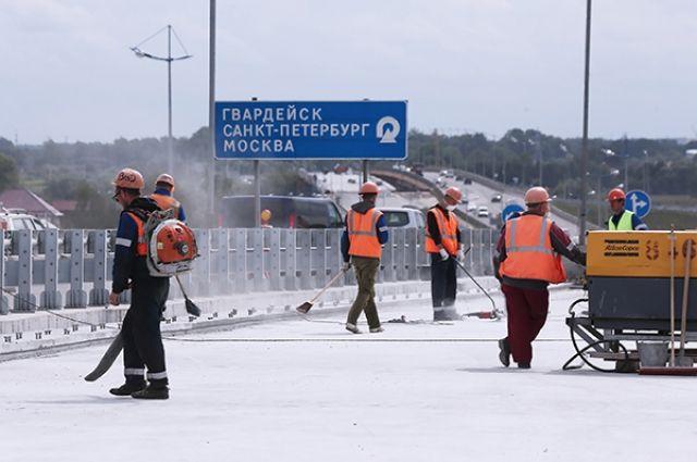 В Калининграде открыт новый участок Северного обхода.