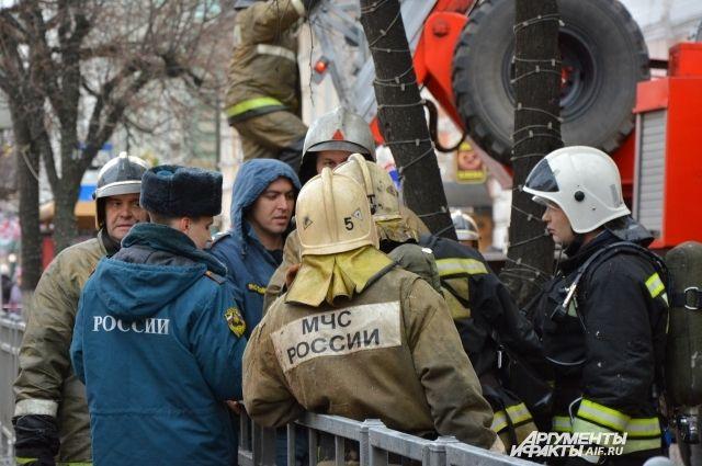 В Омской области загорелся санаторий «Коммунальник»