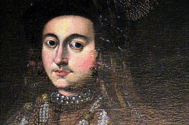 Мария Старицкая. Портрет работы неизвестного художника XVI века из датского замка Розенборг.