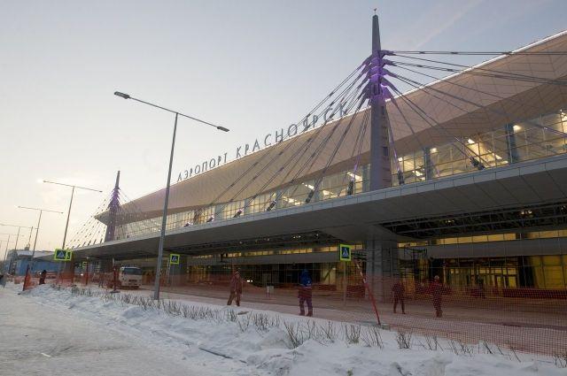 Сейчас над терминалом красуется название «Красноярск».