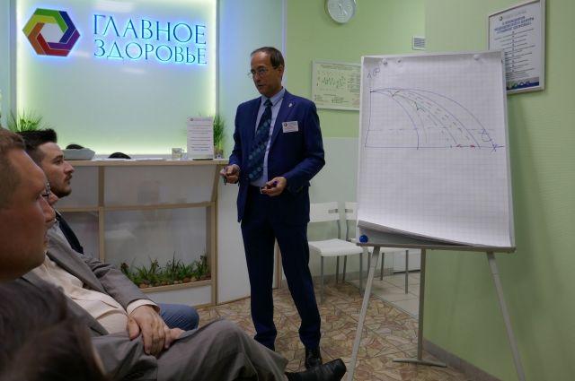 На очередной «Деловой гостиной» ТДК обсудили тему профессионального стресса