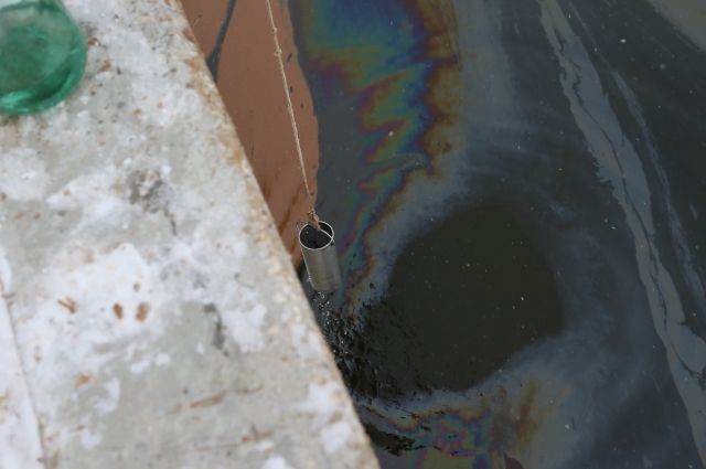 «Советские» нефтепродукты обнаружены на территории Яшкинского района.