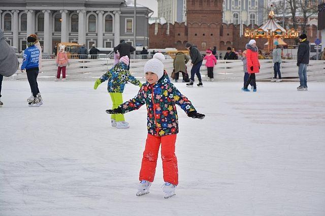 Во дворах города будет 88 ледовых площадок.